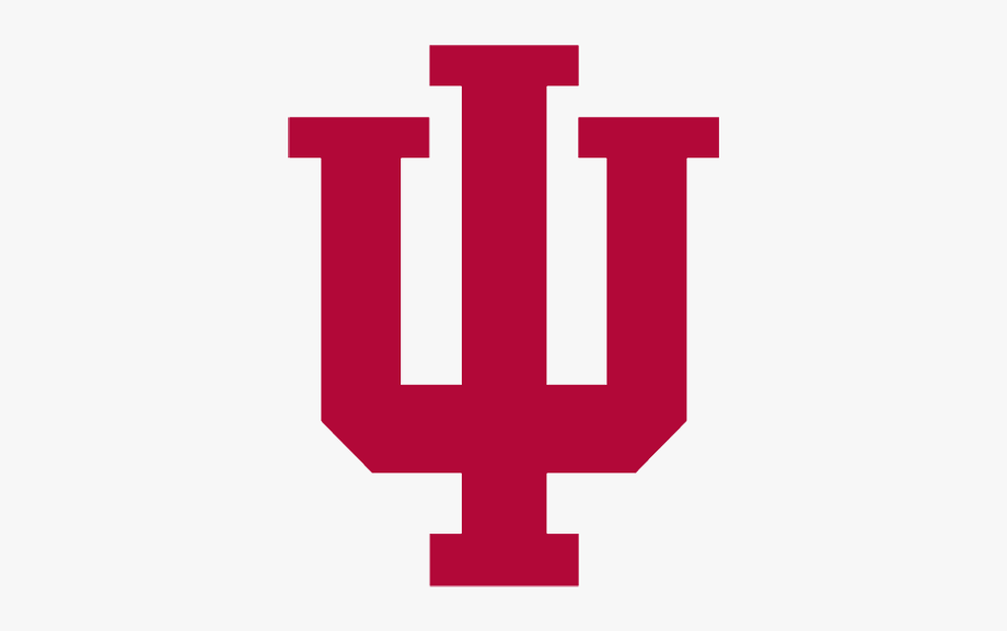 Рay Attention To Indiana Basketball Clipart.