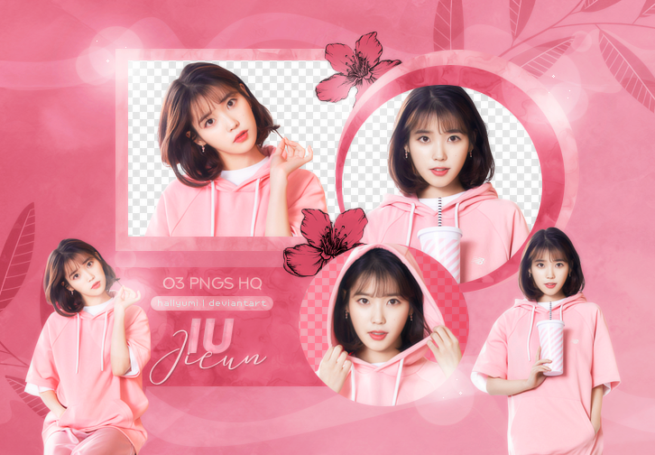 PNG PACK: IU #4 by Hallyumi on DeviantArt.