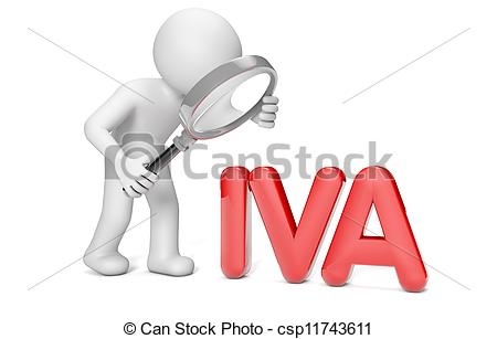 Clipart of iva tax.