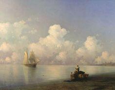 Calm sea 1863.