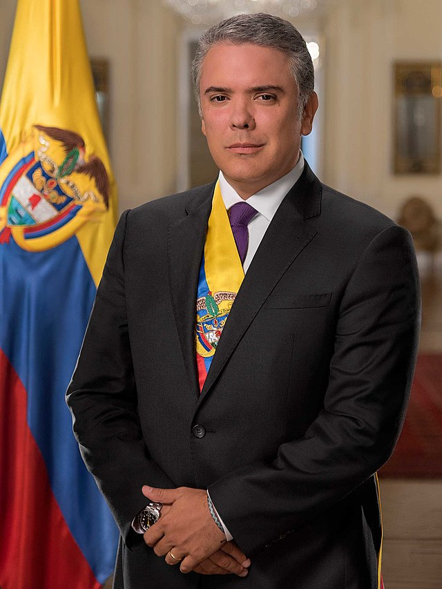 President of Colombia.