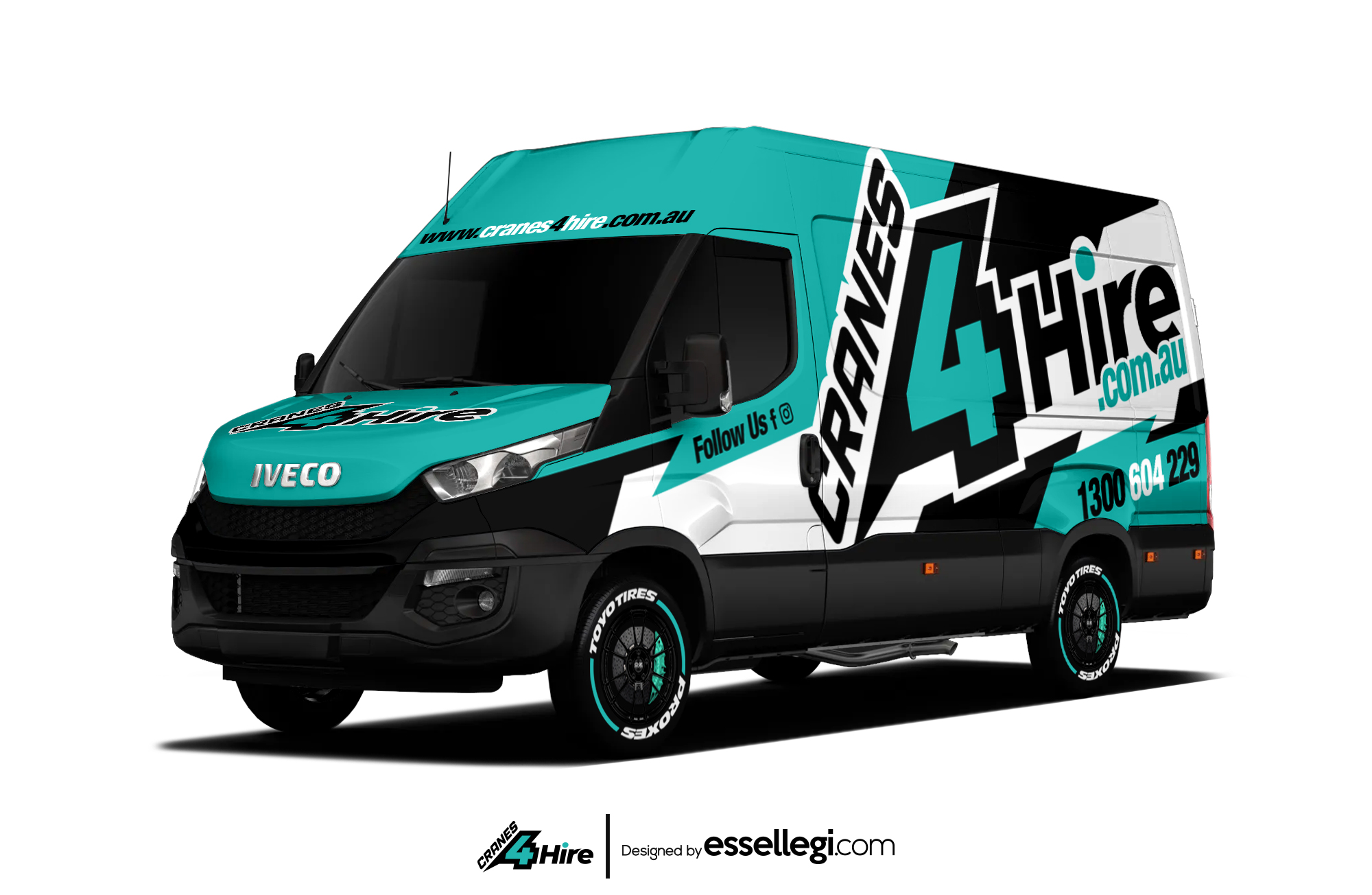 Are you looking for Best Iveco Daily Van Wrap Design.