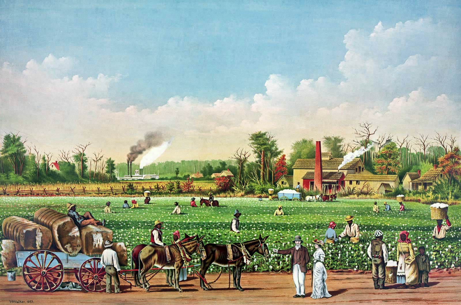 a overview of farmers discounted in the 1800s period in united states