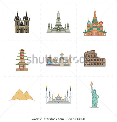 Vector Sketch Saint Yves La Sapienza Stock Vector 507193552.