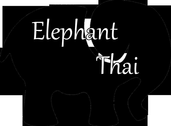 Ivory ella elephant logo clipart.