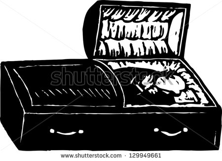 Open Casket Stock Images, Royalty.
