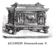 Art casket Illustrations and Clipart. 40 art casket royalty free.