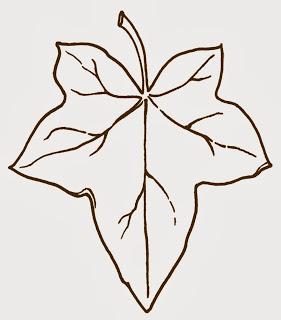Free clip art ~ ivy leaf.