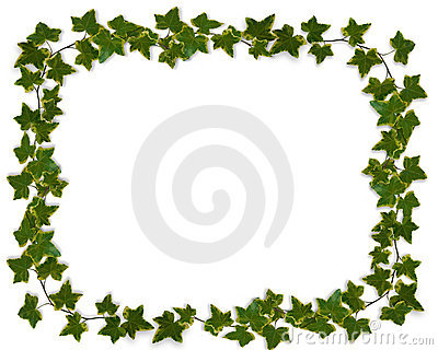 Ivy Leaves Border Clipart.