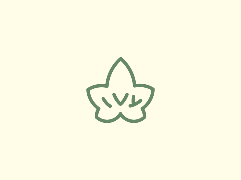 Ivy Logo by Lepchik on Dribbble.