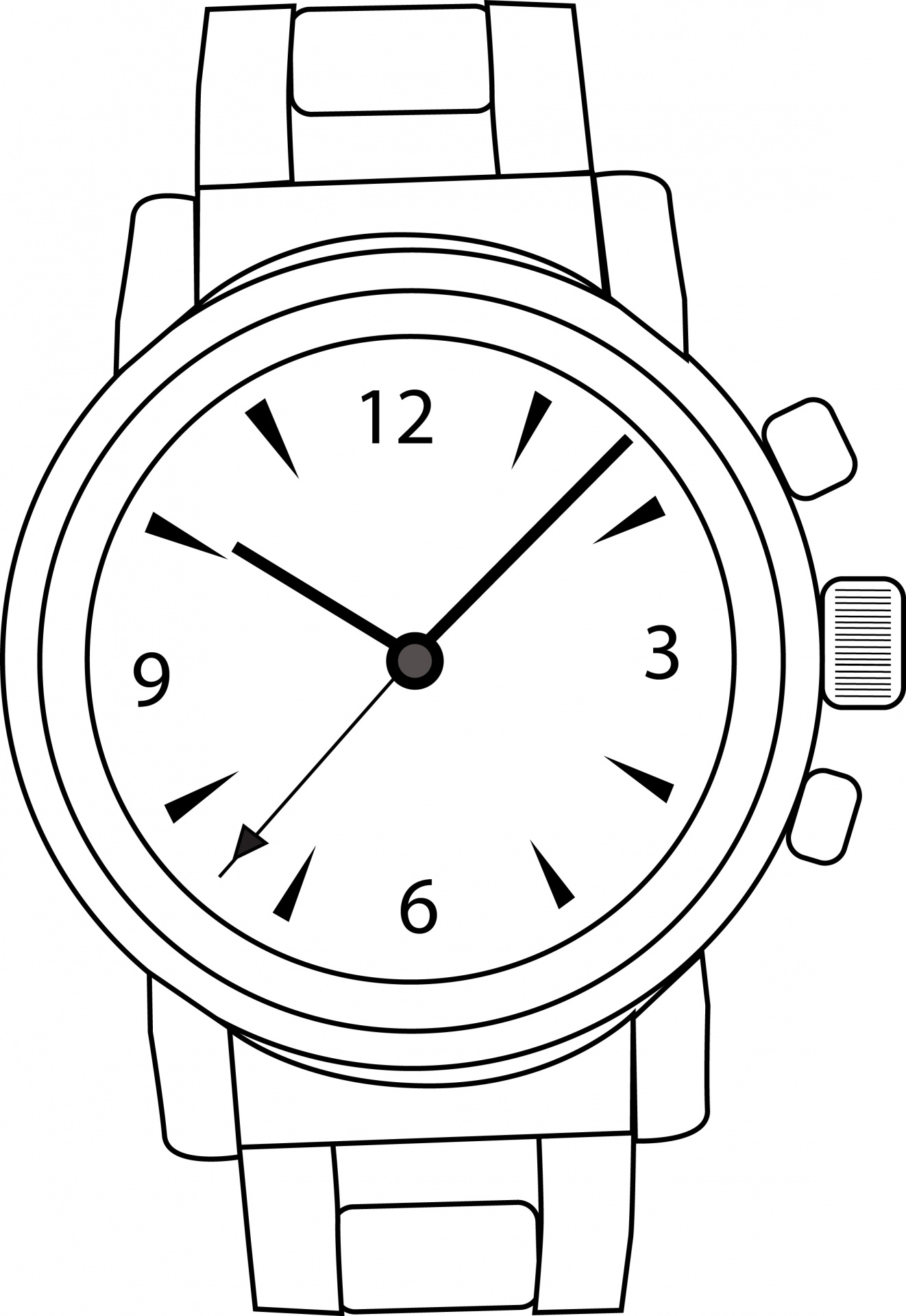 2462 Watch free clipart.