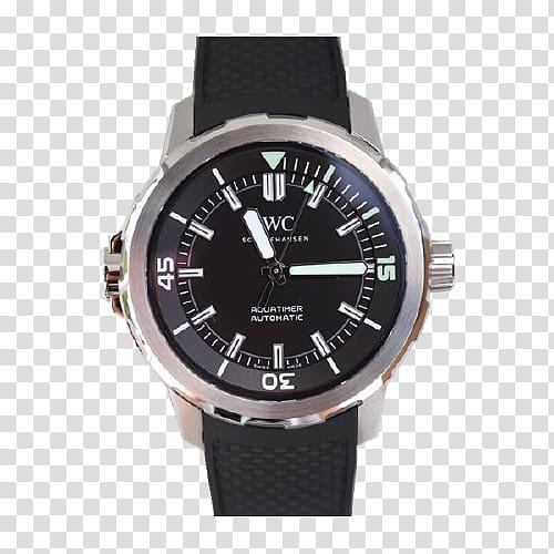 Watch strap Leather Chronograph International Watch Company.