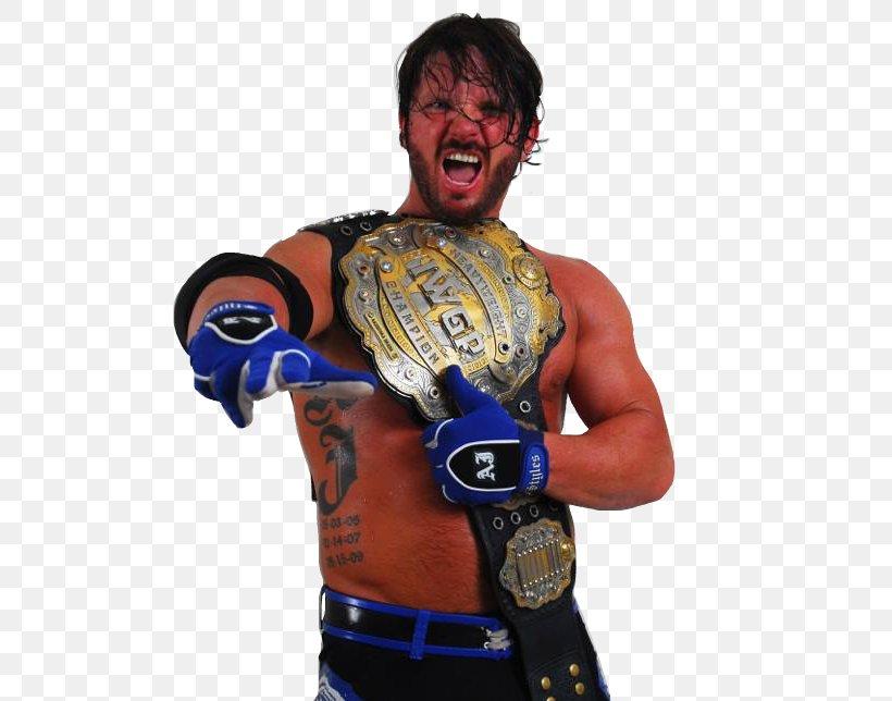 A.J. Styles World Heavyweight Championship New Japan Pro.