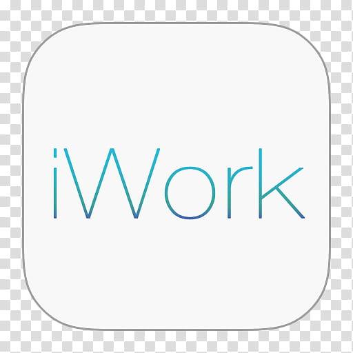 IWork icons, iWork, white iWork icon transparent background.