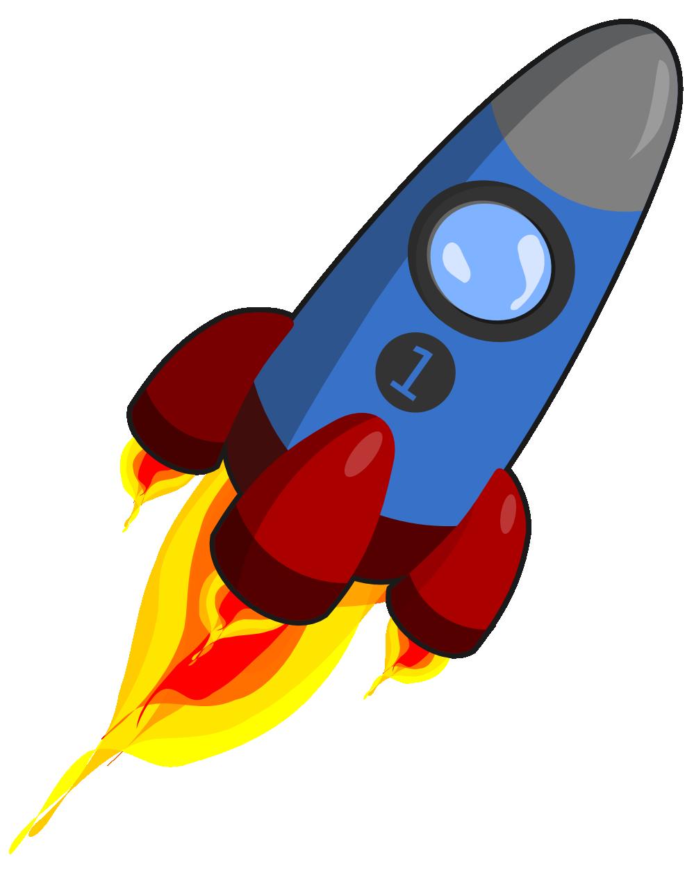 Cliparti1 rocket clip art.
