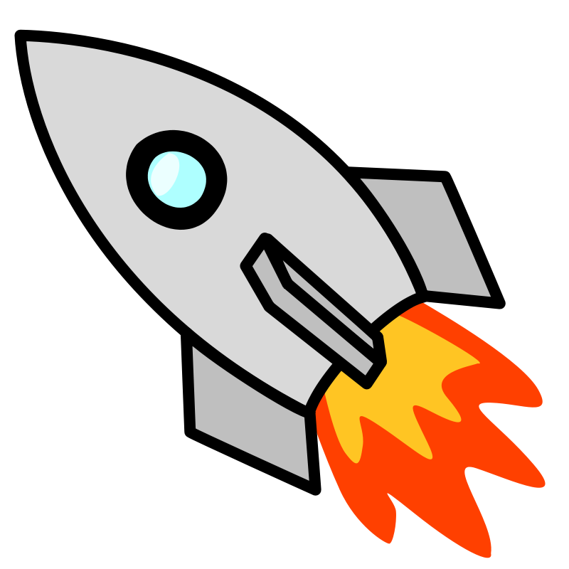 Cartoon Rocket.