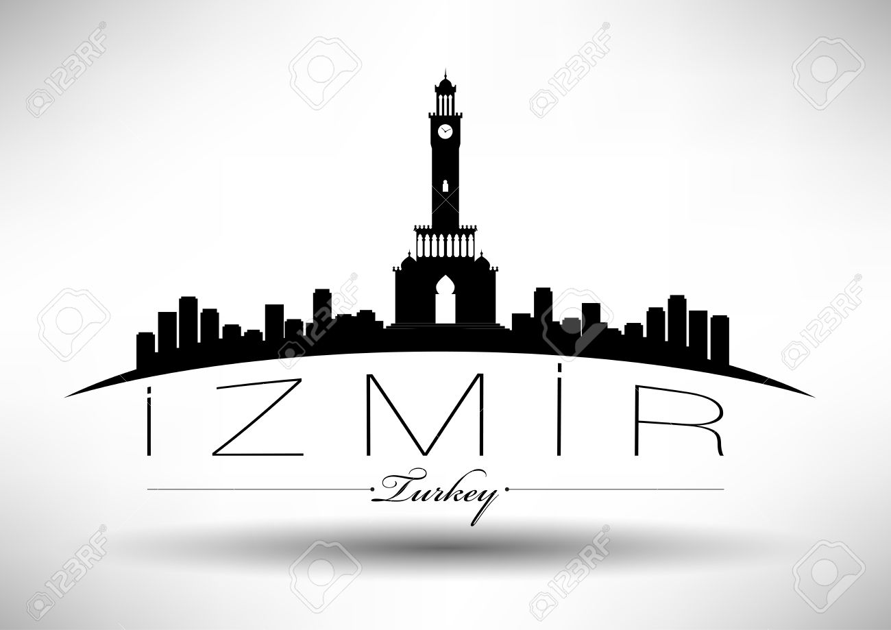 304;zmir City Skyline Design Royalty Free Cliparts, Vectors, And.