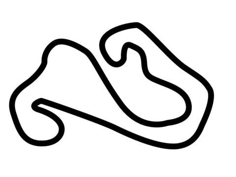 Izmit Korfez Pisti Kart Track Circuit Decal.