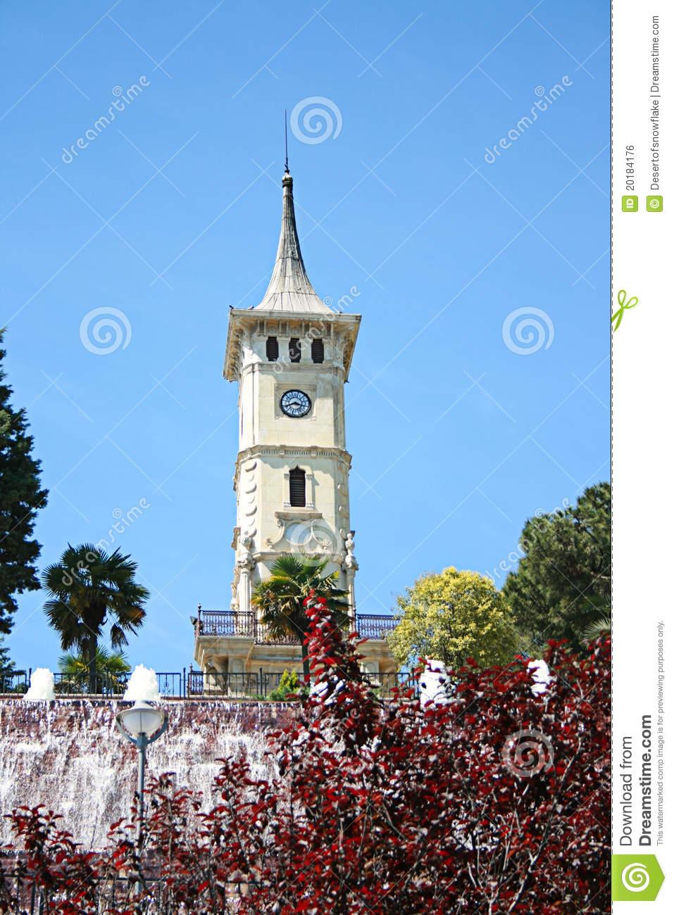 The Izmit Clock Tower,Symbol Of Izmit City Royalty Free Stock.