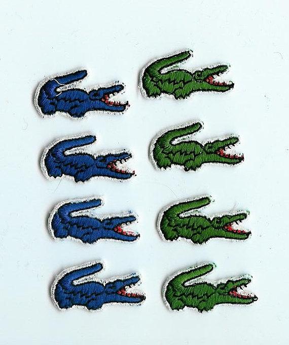 Izod alligator Logos.