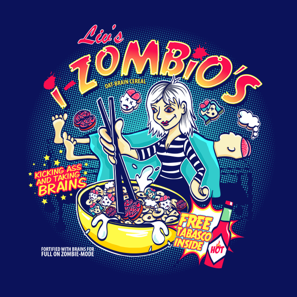 The iZombie Podcast with Robin and Steph.