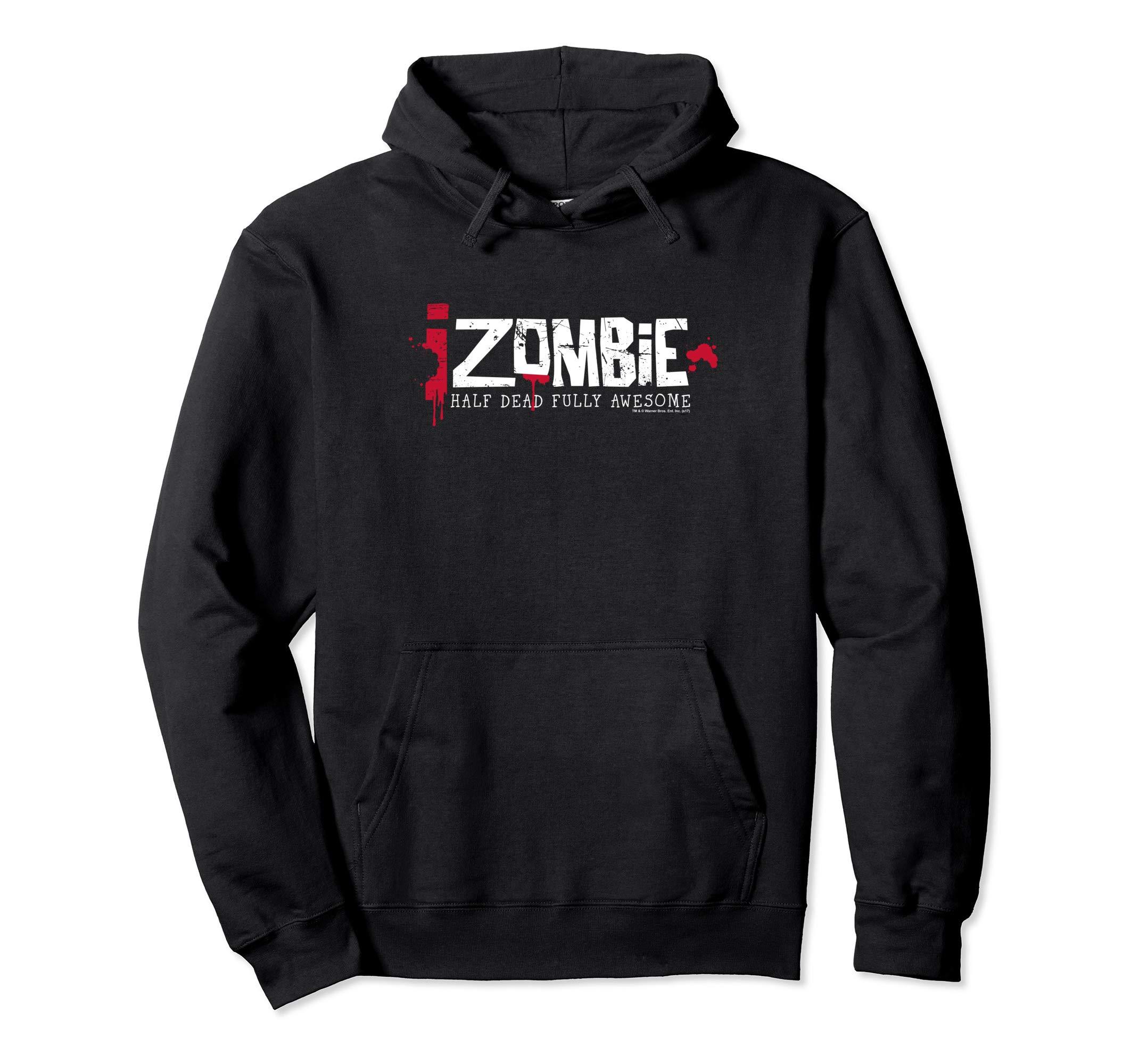 Amazon.com: iZombie Logo Pullover Hoodie: Clothing.