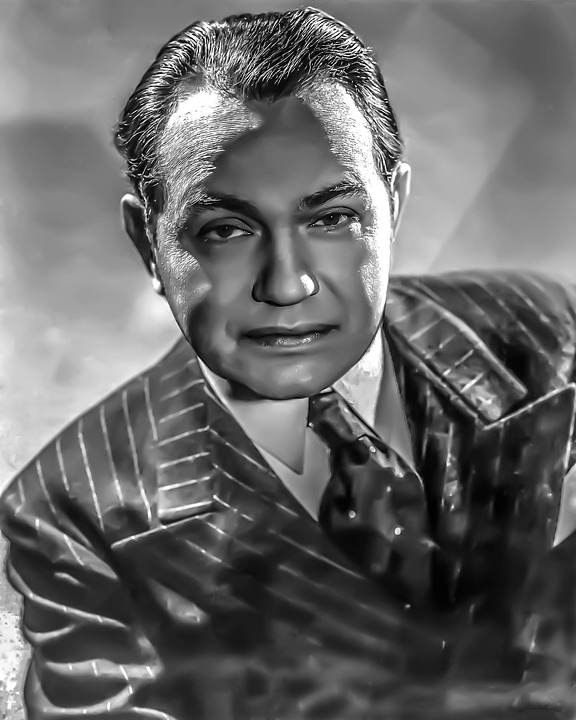Free photo Edward G Robinson.
