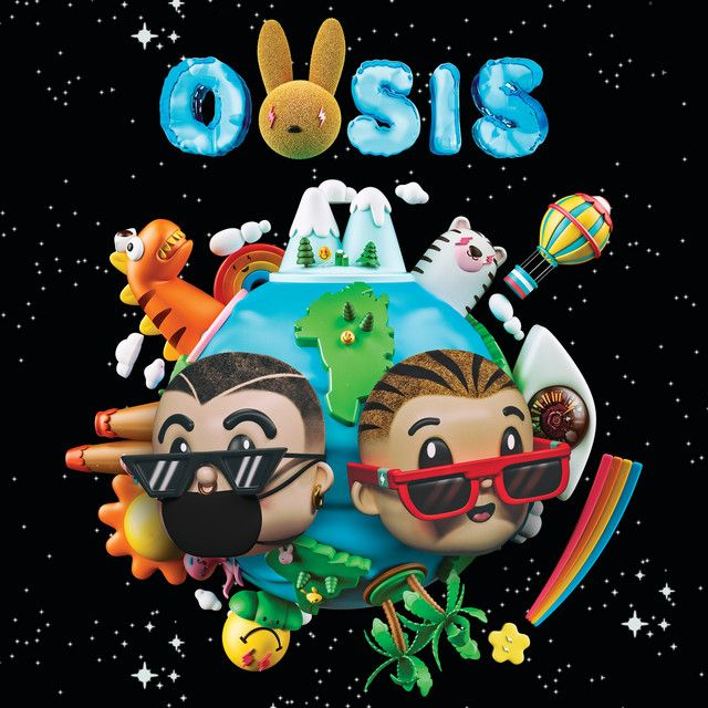 OASIS by J Balvin on Spotify in 2019.