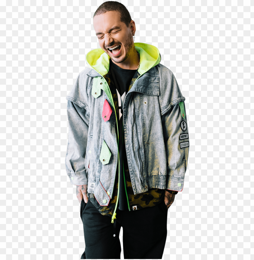 j balvin 2018 PNG image with transparent background.