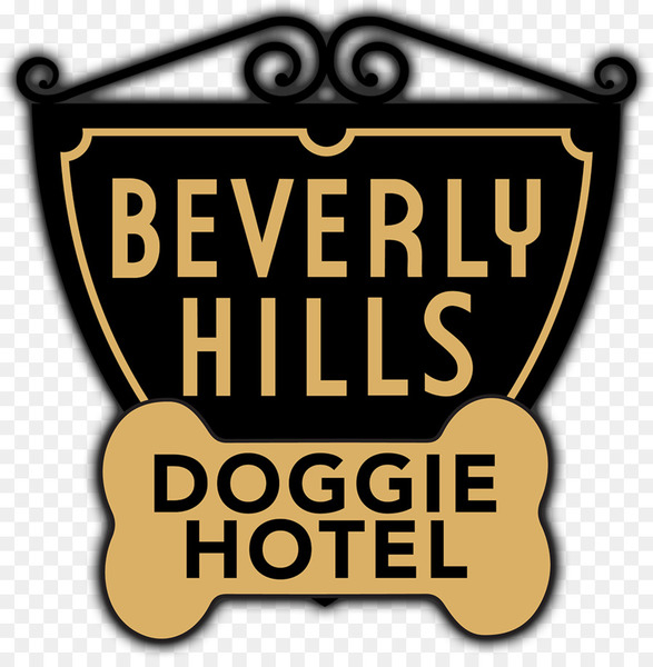 Beverly Hills Sign Beverly Hills Doggie Hotel Logo Michael J.