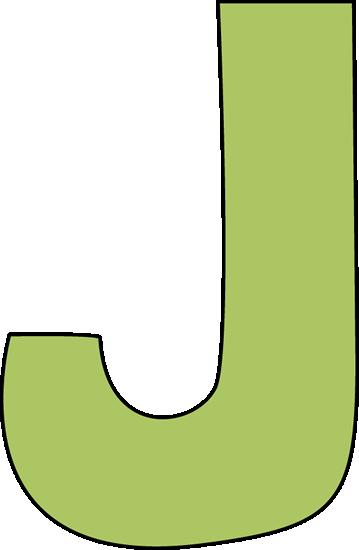 Letter J Clipart.