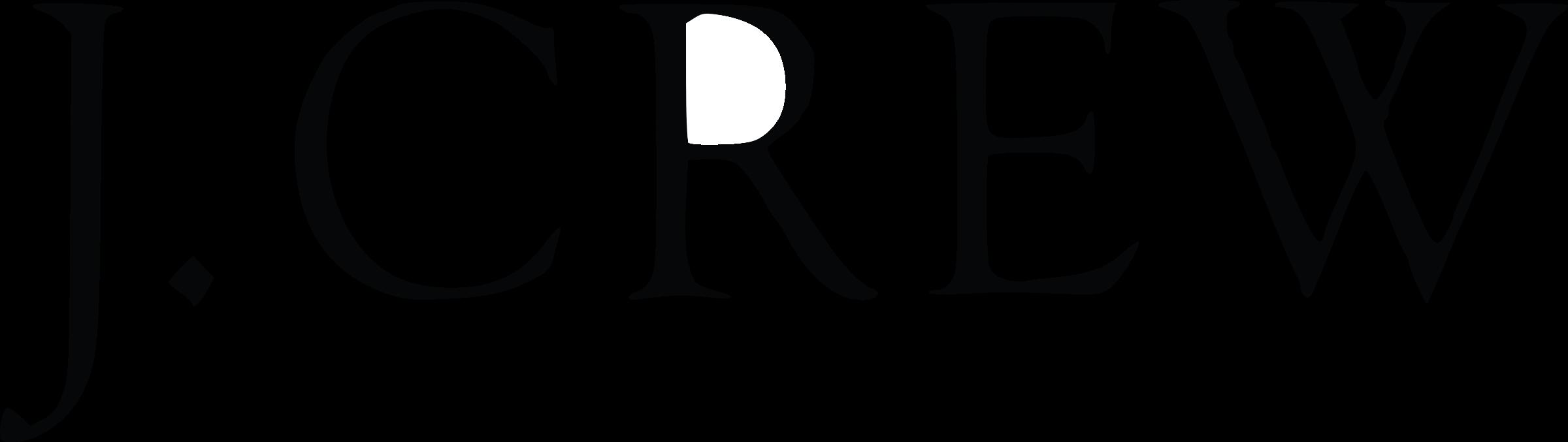 J. Crew Logo PNG Transparent & SVG Vector.