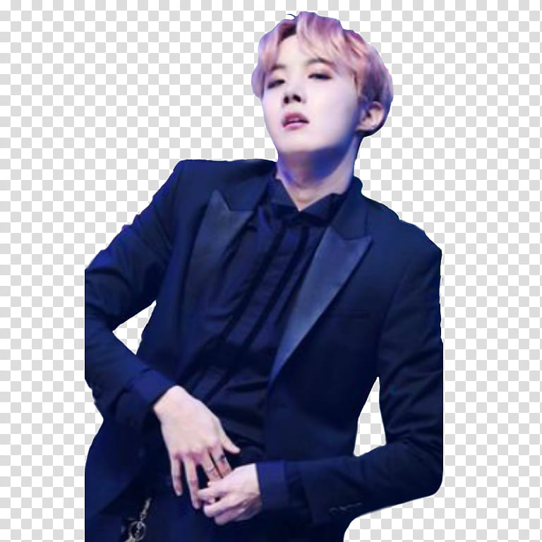 BTS J Hope transparent background PNG clipart.