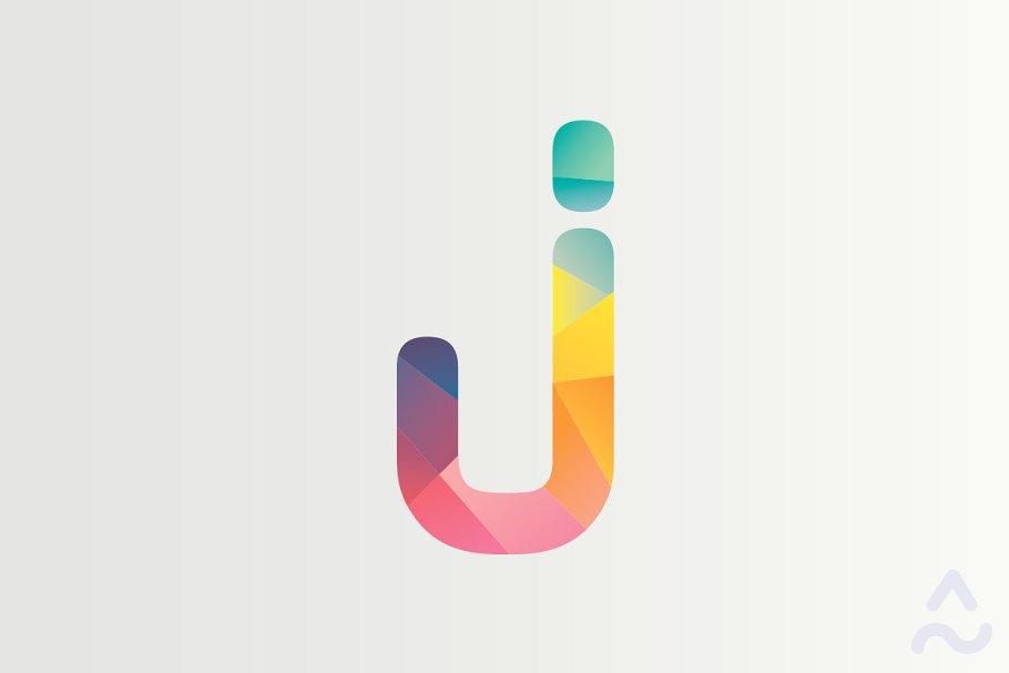 J Letter for logo.