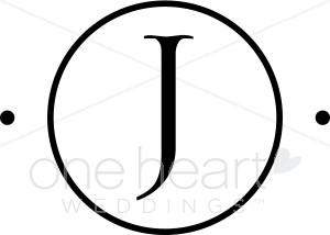 Monogram J Clipart.
