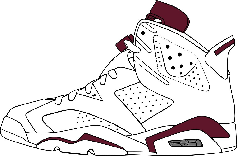 """J6 Maroon"""" by tee4daily."""