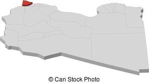 Clip Art Vector of Map.
