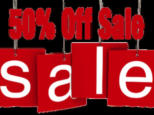 50% Off Clipart Sale.