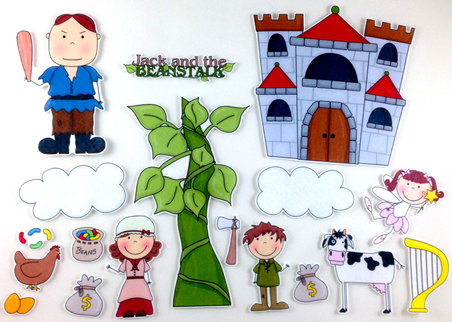 Free Jack And The Beanstalk Characters, Download Free Clip.