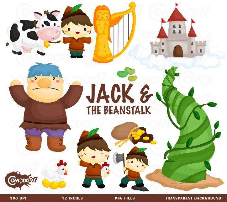 Jack and the beanstalk Clipart, Jack and the beanstalk Clip Art.