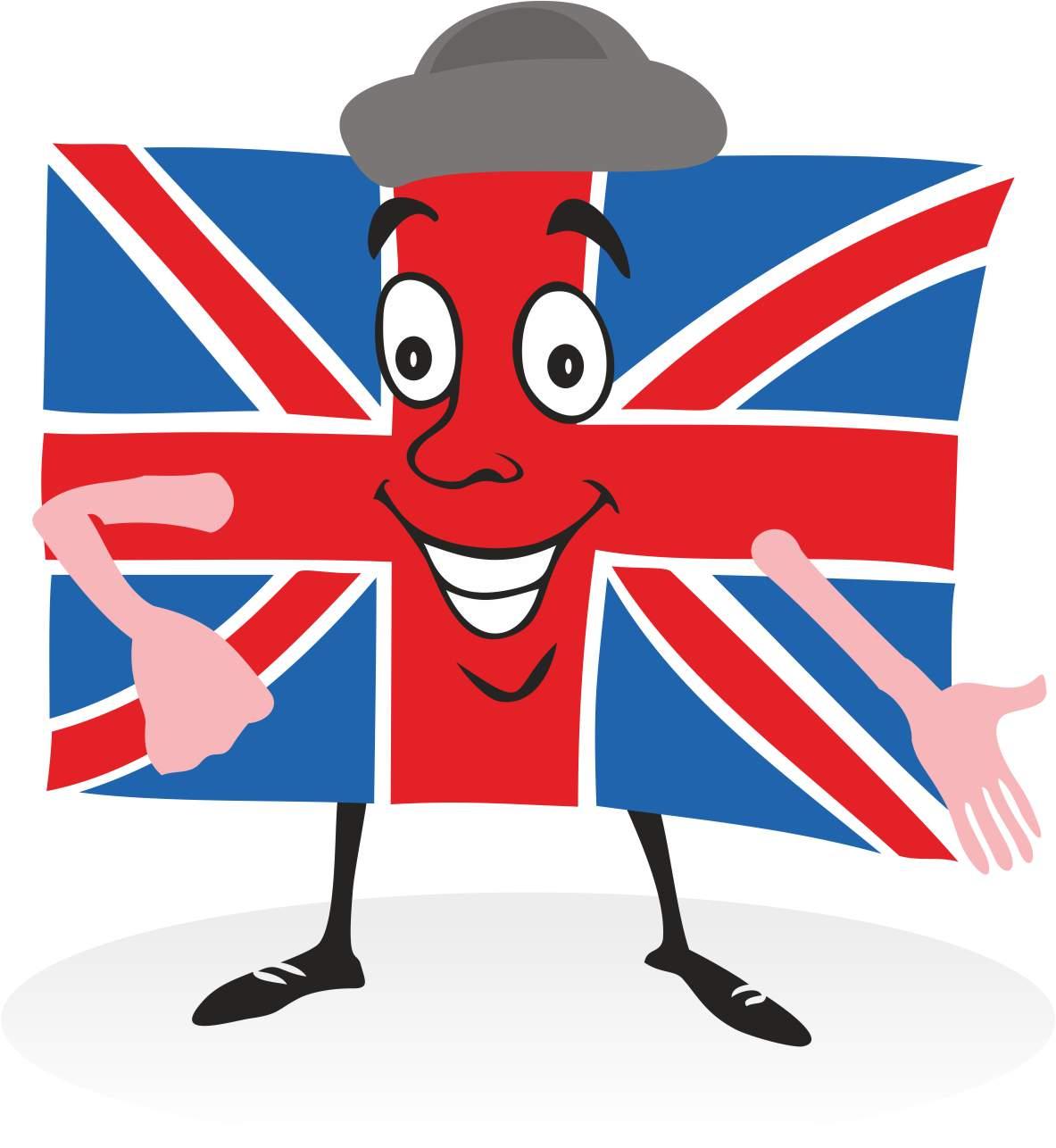 Union Jack Flag Clipart.
