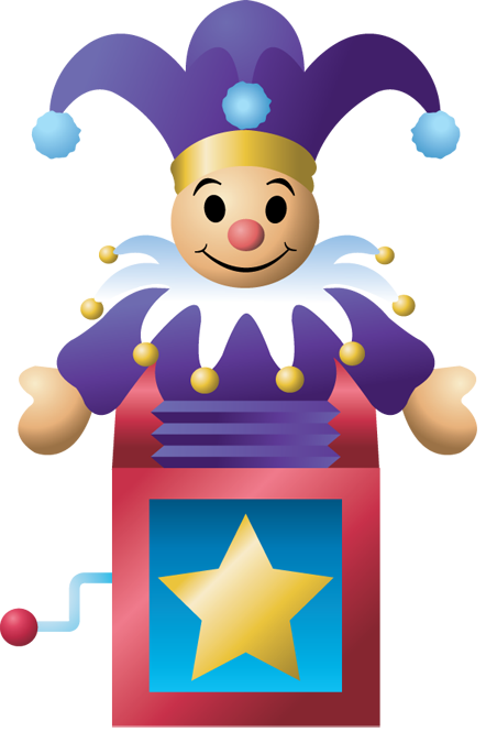 Jack in the box clipart free.