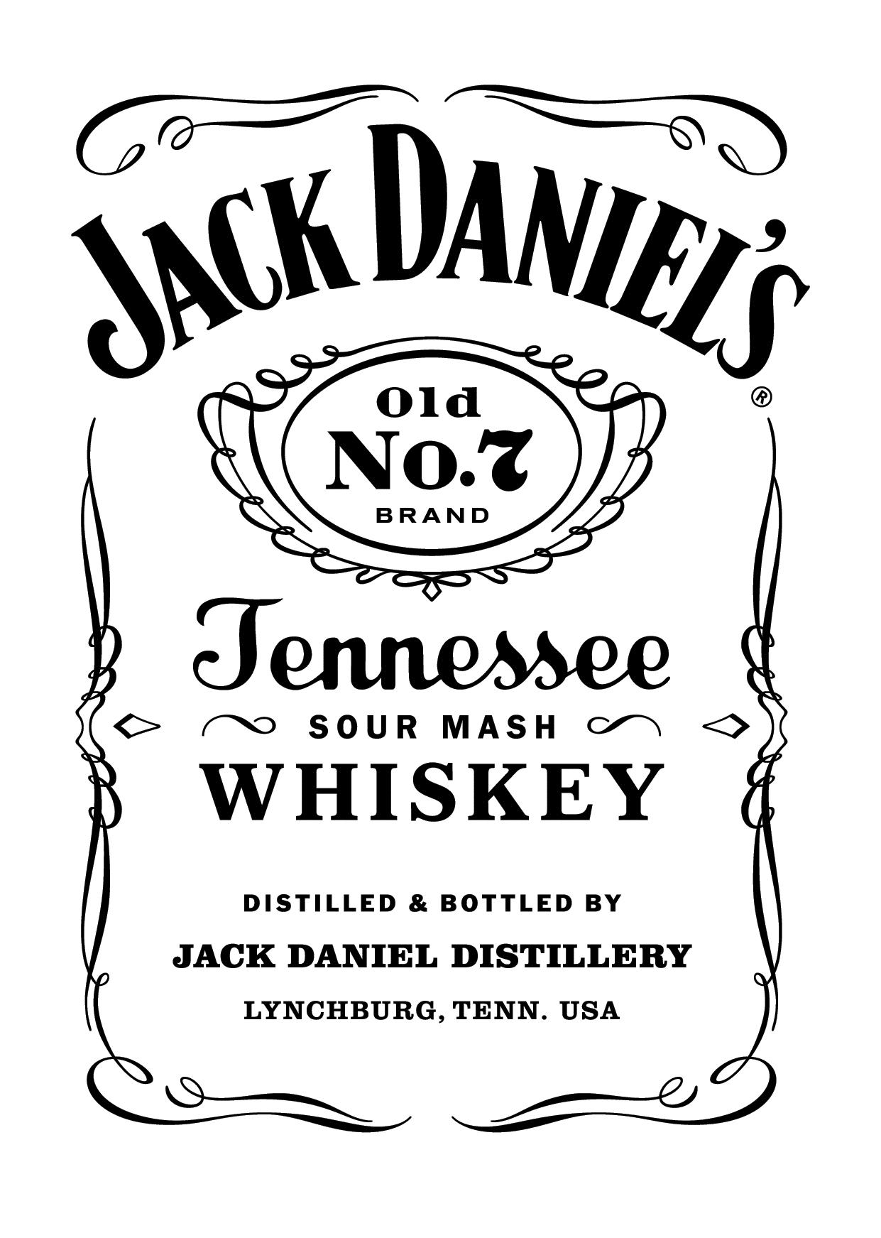 Jack Daniel\'s Old No. 7.