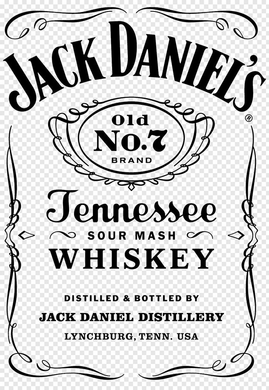 Jack Daniels Old No. 7 Jennessee Whiskey logo, Jack Daniel\'s.