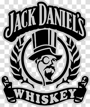 DAPLB JDN Jack Daniel Logo Brand transparent background PNG.