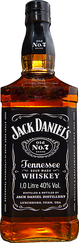 Personalised Jack Daniels Old No7 1 Litre.