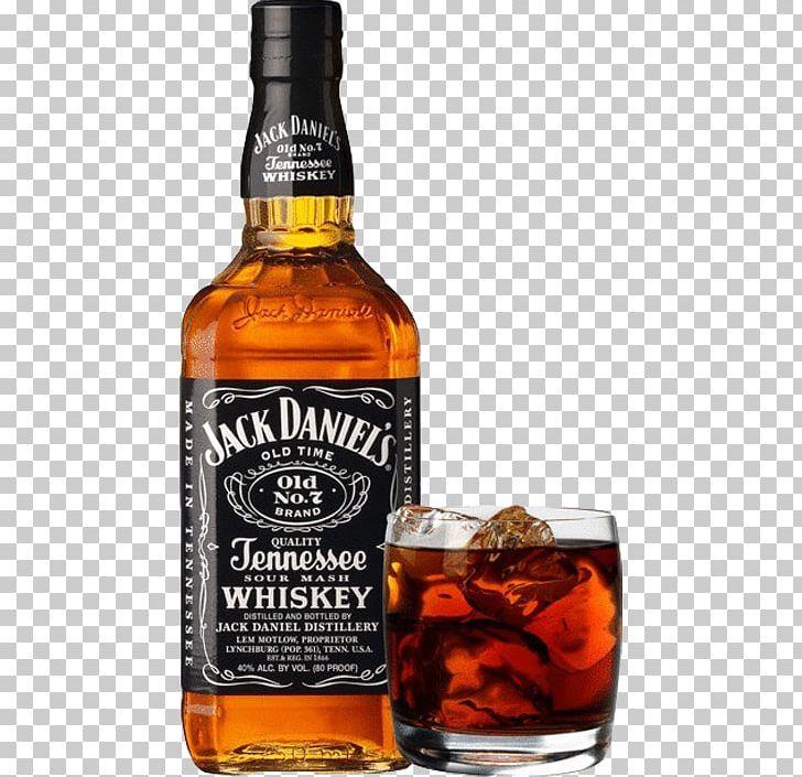 Distilled Beverage Tennessee Whiskey Jack Daniel's Bourbon Whiskey.