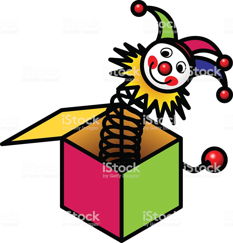 Jack in the box toy clipart 2 » Clipart Station.