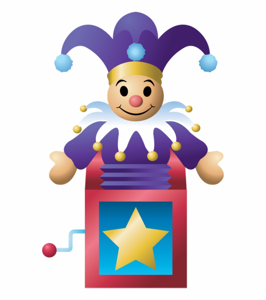 Toys Vector Toy Box Jack In The Box.