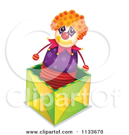 Clipart Jack In The Box Toy.